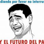Estudiando, por favor no interrumpir – Soy el futuro del país