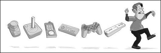 Evolución de los mandos