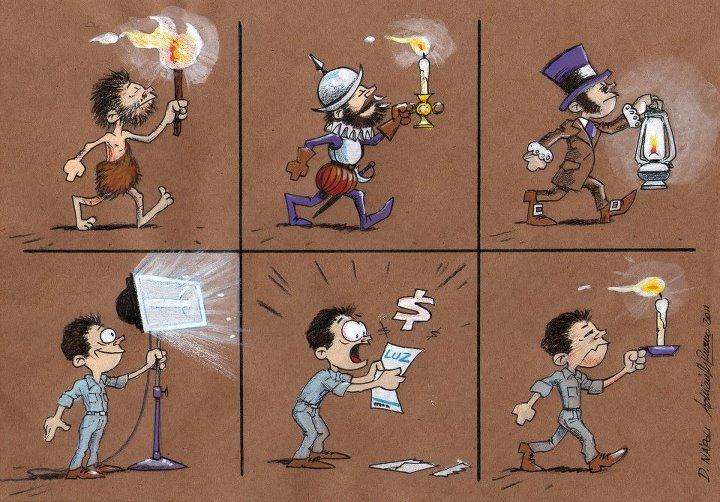 Evolución del uso de la luz a lo largo de la historia