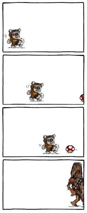 De ewok a Chewbacca