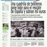 Una cuadrilla de txikiteros pone bote para el rescate de españa y sobran mil euros