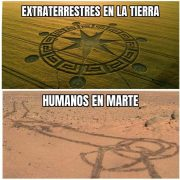 Extraterrestres en la Tierra vs humanos en Marte