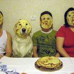 Tortitas en la cara