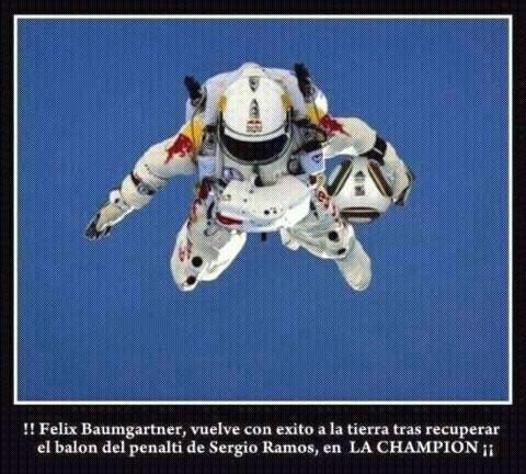 Felix Baumgartner, misión cumplida