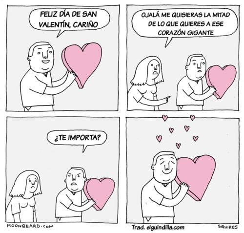 Feliz día de San Valentín, cariño
