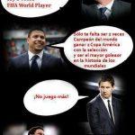 FIFA World Player – Ronaldo vs Leo Messi