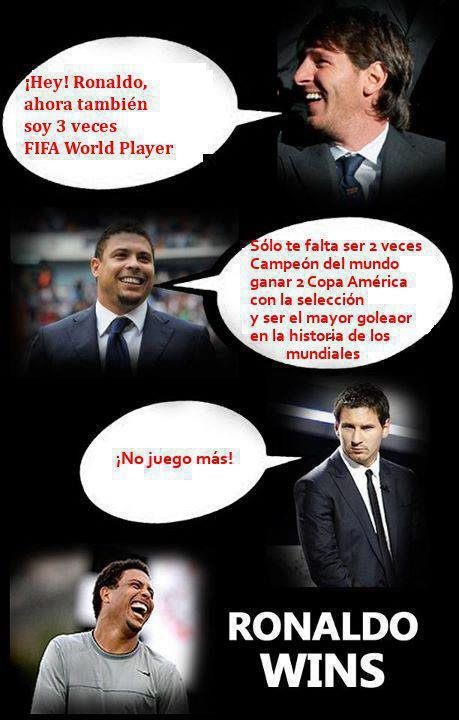 FIFA World Player - Ronaldo vs Leo Messi