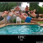 Frikis en la piscina – Epic win