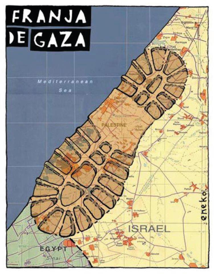 Franja de Gaza en la actualidad
