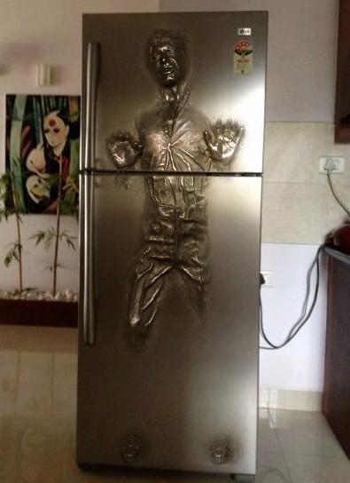 frigorifico puerta han solo congelado