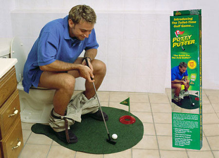 gadgets para hombre - mini golf para water