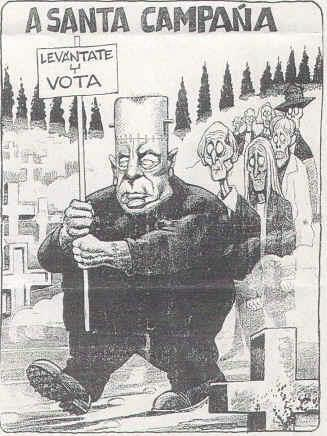 Campaña para las elecciones autonómicas en Galicia