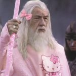 Gandalf look Hello Kitty