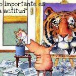 Lo importante es la actitud