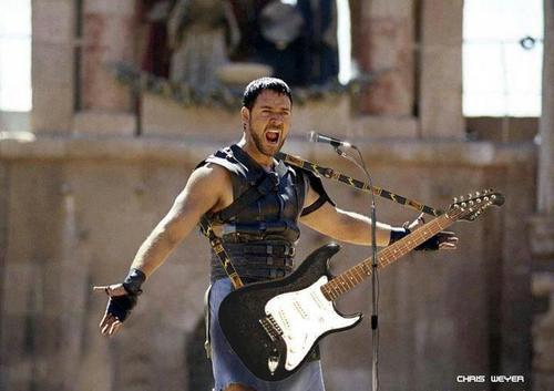 gladiator guitarrista