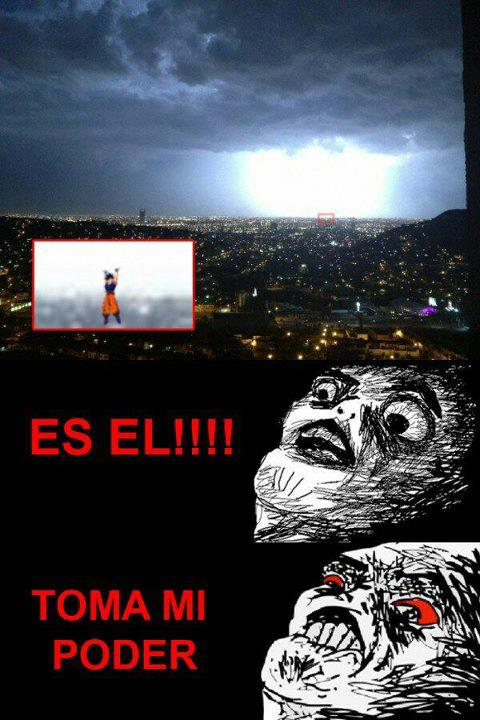 No es una tormenta, es...