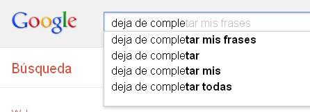 Google, siempre jodiendo
