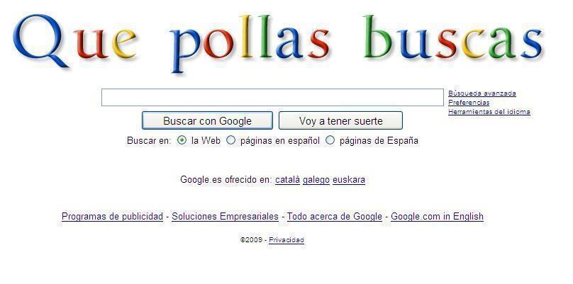 Google - Versión macarra