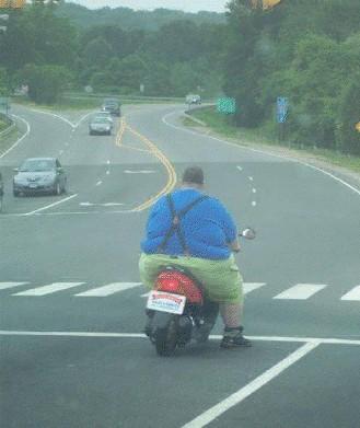 Poniendo a prueba una scooter