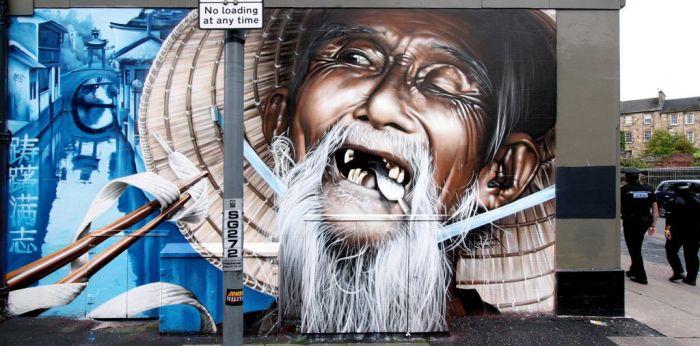 Graffiti - Chino