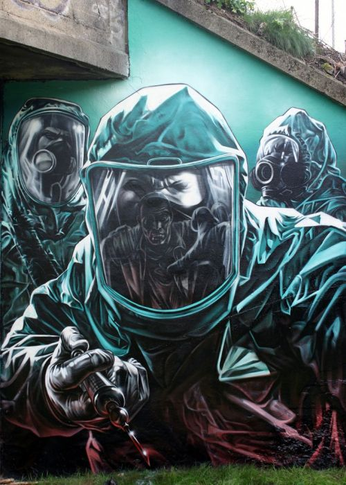 Graffiti - Virus