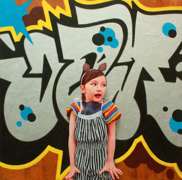 Graffiti Girl (Kevin Peterson)
