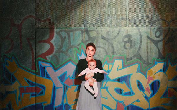 Kevin Peterson - Mujer con niño
