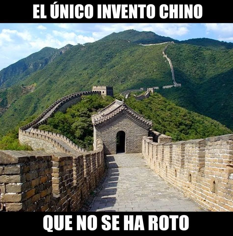 gran muralla china el unico invento chino que no se ha roto