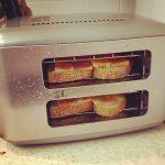Gratinando con la tostadora