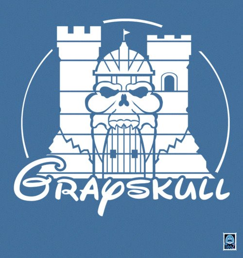 Grayskull - Logo a lo Disney