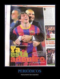 Guardiola y Messi - Ya está adentro
