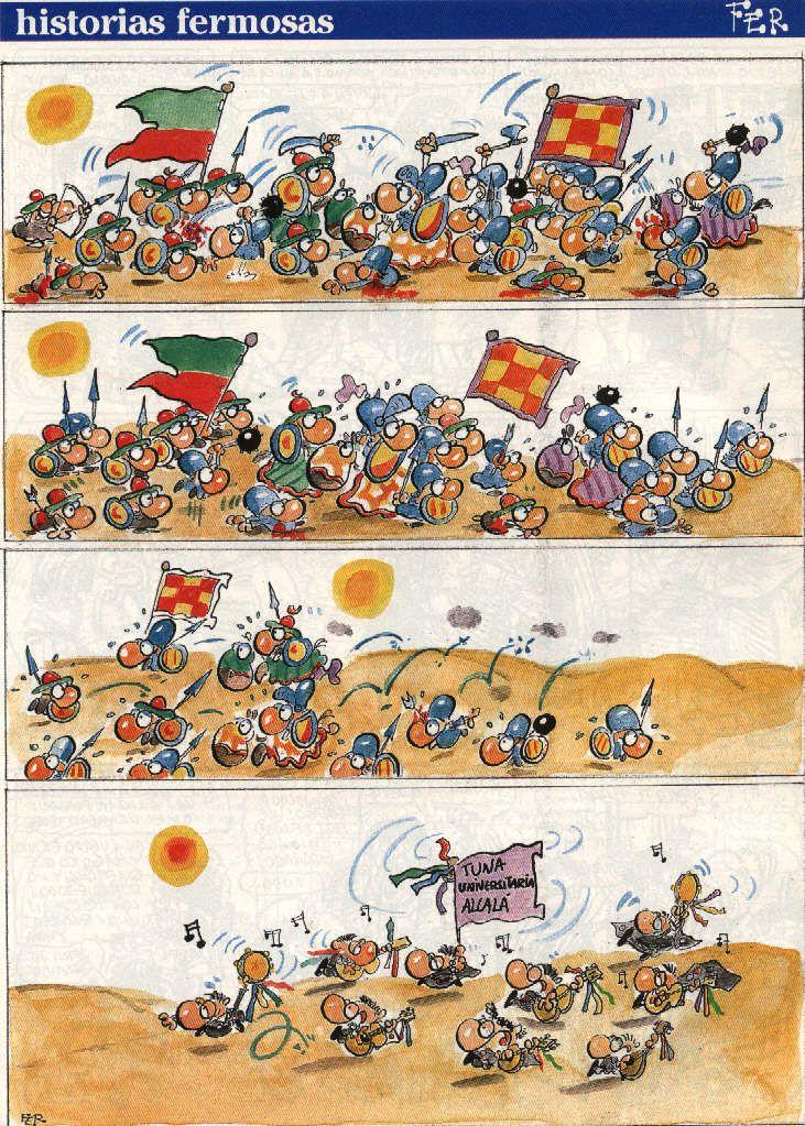 guerra soldados huyen de la tuna