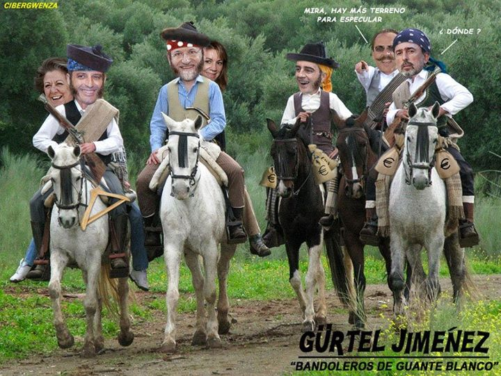 Gürtel Jiménez - Bandoleros de guante blanco