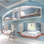 Quiero dormir en unas literas así