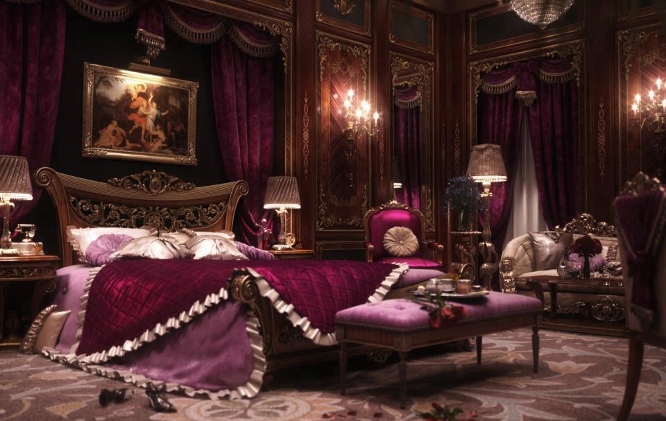 Habitación victoriana