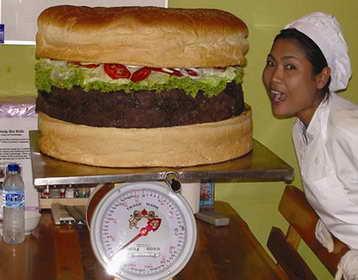 Otra de hamburguesas gigantes