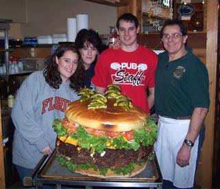 Hamburguesa enorme