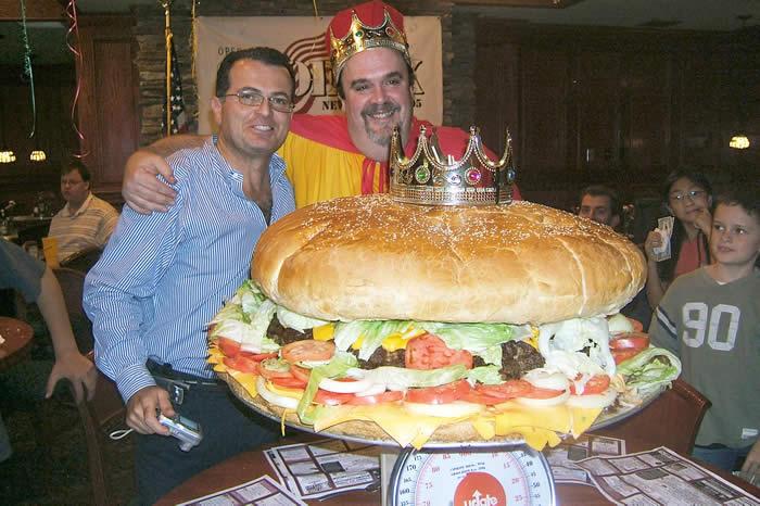 La reina de las hamburguesas