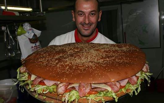 Hamburguesa tamaño familiar