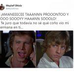 Han Solo y Luke en sus ratos libres