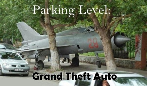 Parking Level: Grand Theft Auto