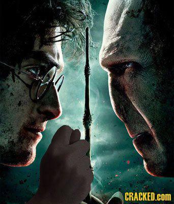 Harry Potter - Aquí tengo tu nariz