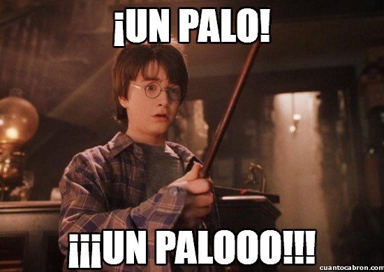 harry potter - un palo, un paaalo