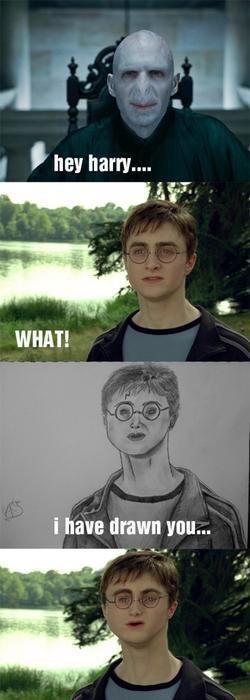 Hey Harry, te he dibujado