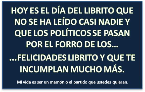 Feliz día de la Constitución Española