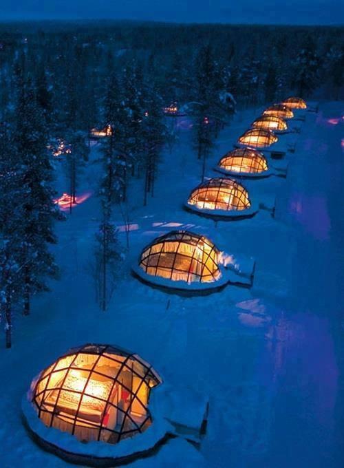iglus en finlandia
