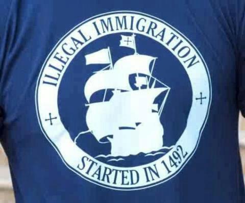 La inmigración ilegal comenzó en 1492
