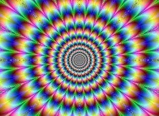 Ilusión óptica - Círculos que tiemblan