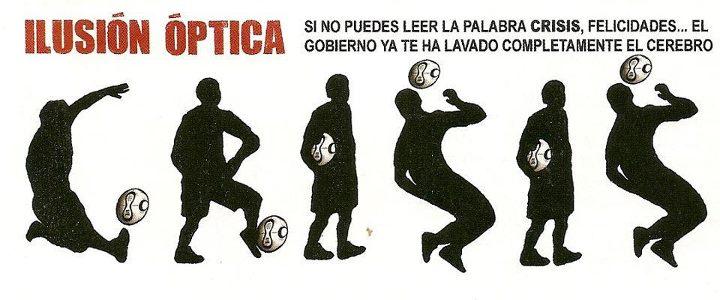 Ilusión óptica: Futbolista