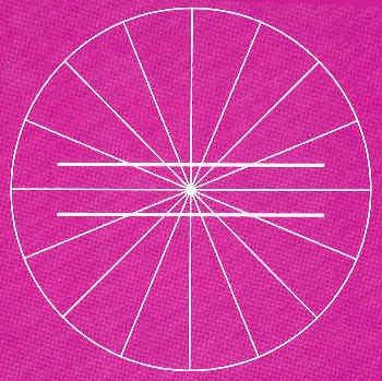 Ilusiones ópticas - Líneas paralelas
